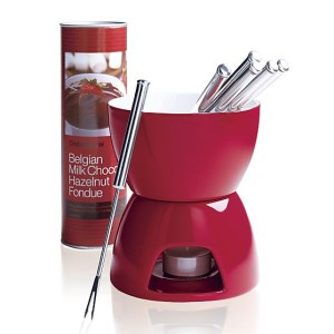 7-piece-red-and-white-fondue-set