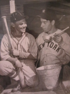 My dad with Joe DiMaggio
