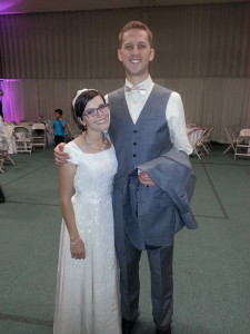 Janessa & Bryce the newlyweds!